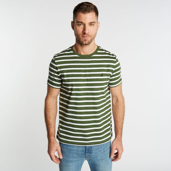 STRIPED J-CLASS T-SHIRT - Pineforest
