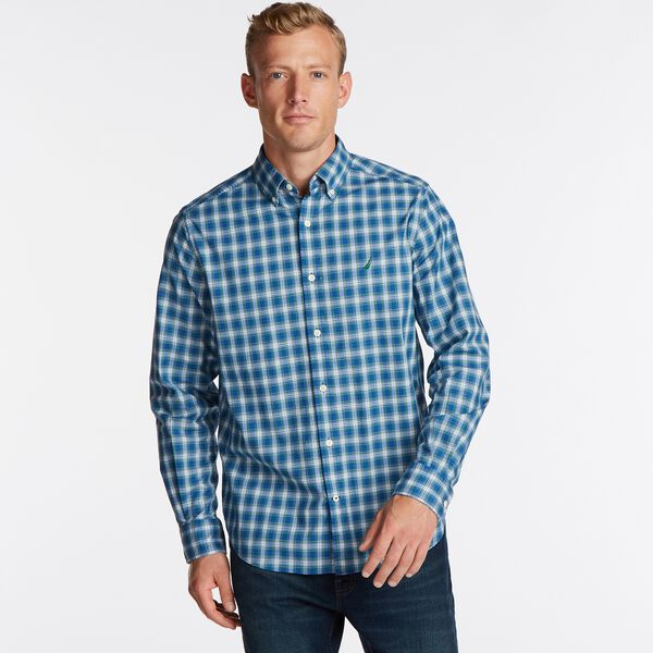 NAVTECH PLAID SHIRT - Spruce