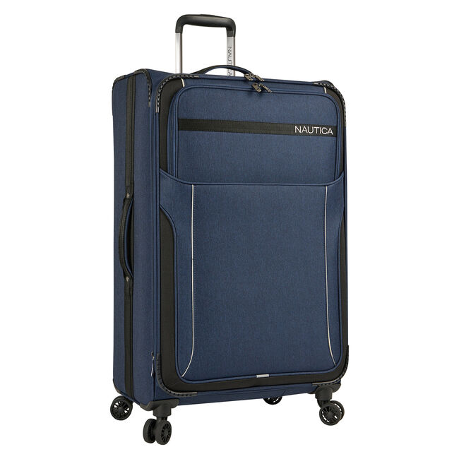 """Naval Yard 28"""" Expandable Spinner Luggage,Navy,large"""