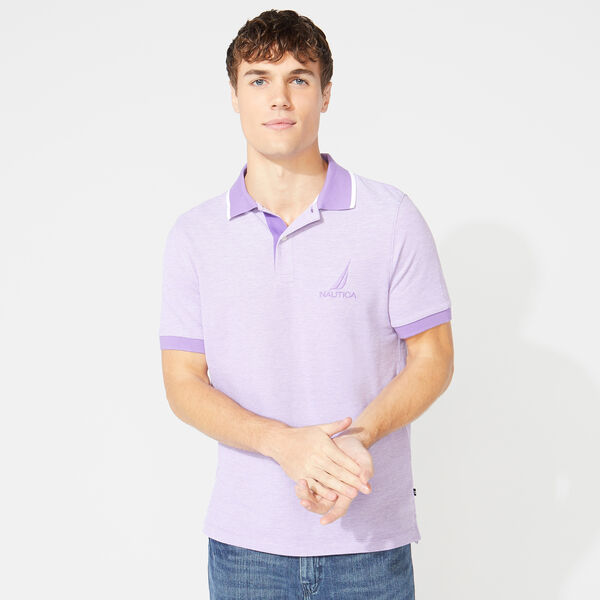 CLASSIC FIT OXFORD POLO - Ocean Violet