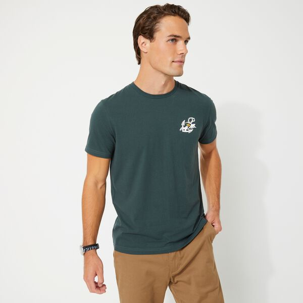 SUSTAINABLY CRAFTED SAILING CLUB GRAPHIC T-SHIRT - Green