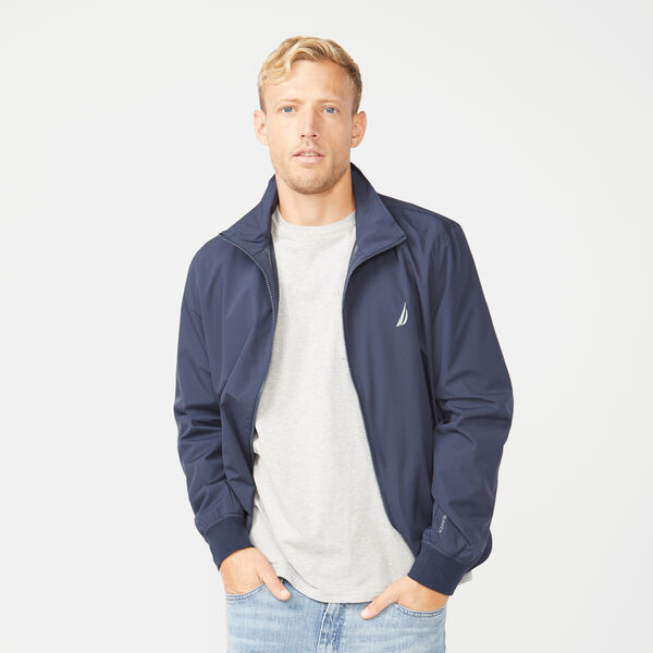 RAINBREAKER GOLF BOMBER - Navy