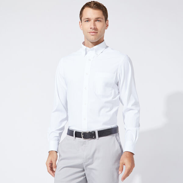 CLASSIC FIT PERFORMANCE TECH SHIRT IN WHITE - Antique White Wash