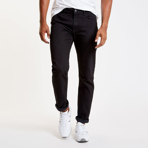 Black Ink Wash Slim Fit Jeans - Black Ink Wash