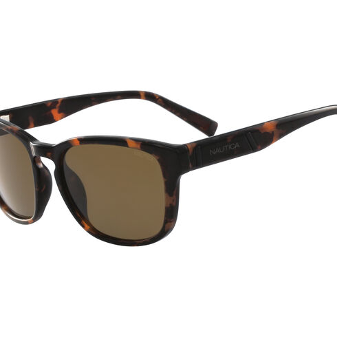 Vintage Classic Square Sunglasses - Beech