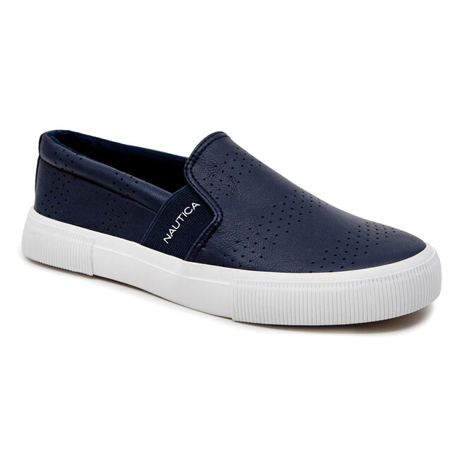 CONAWAY TEXTURED SNEAKERS,Navy,large