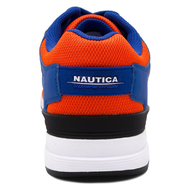 NAUTICA COMPETITION DEL RIO LOW TOP IN NAVY MULTI,Cobalt Wave,large