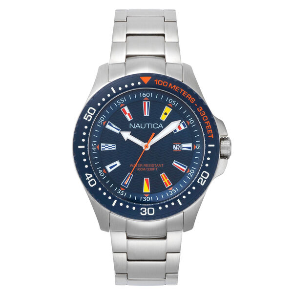 Jones Beach Stainless Steel Watch - Navy