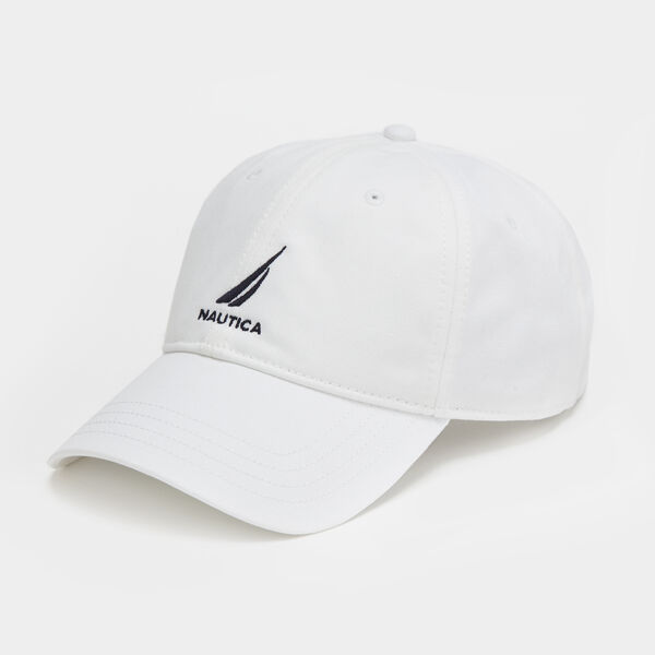 J-Class Logo Baseball Cap - Antique White Wash