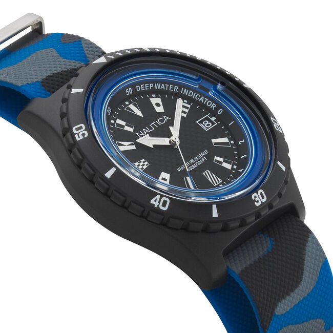 Surfside 3-Hand Watch with Sport Strap,Multi,large