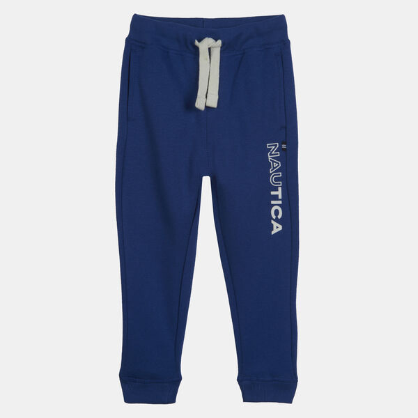 BOYS' LOGO FLEECE-KNIT JOGGER (8-20) - Navy Dusk