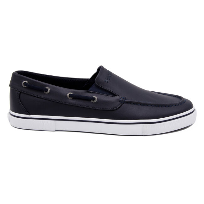 Doubloon Boat Shoe in Navy,Navy,large
