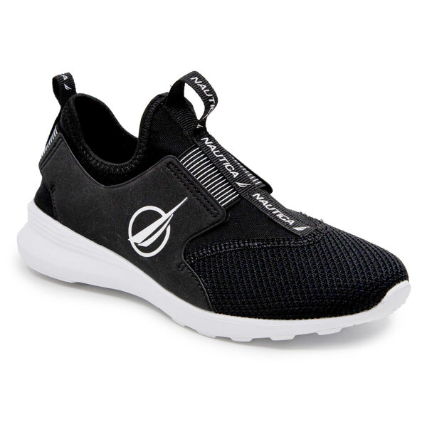 AMBREA MESH SLIP ON SNEAKERS - True Black