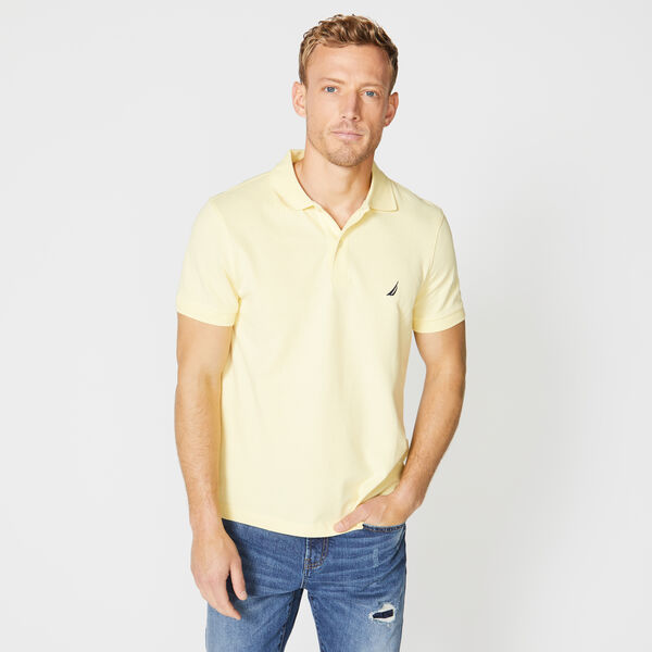 SLIM FIT DECK POLO - French Vanilla