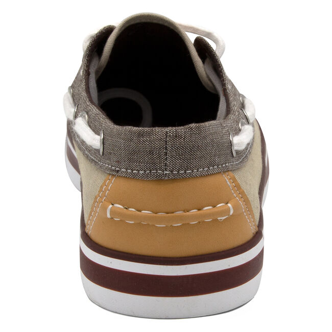 Galley Boat Shoe in Khaki/Brown,Khaki Wash,large
