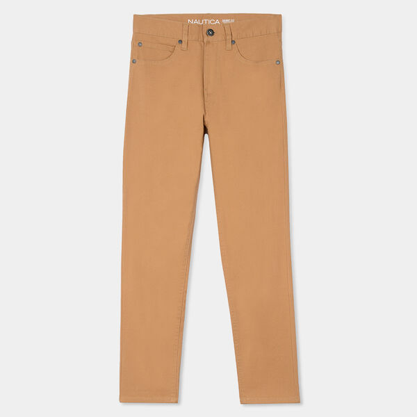 BOYS' 5-POCKET TWILL PANT - Tavern