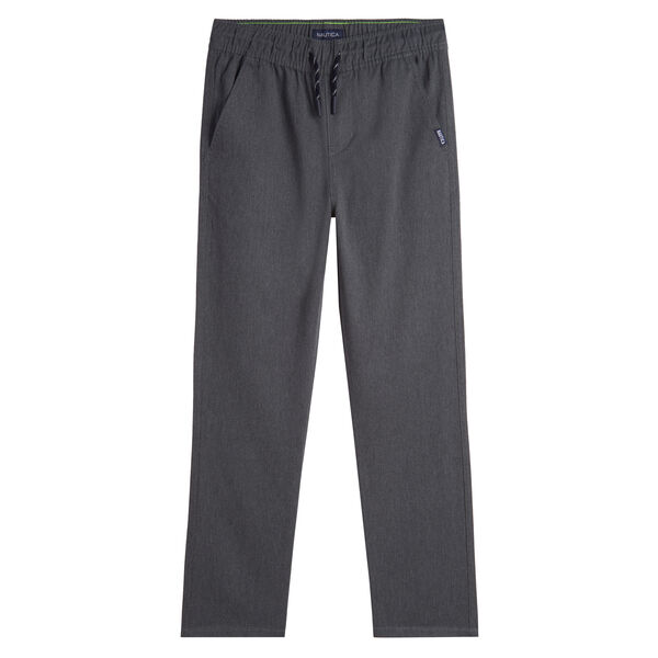 LITTLE BOYS' J-CLASS WOVEN JOGGER (4-7) - Cliff Grey