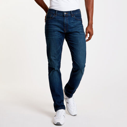 Aegean Sea Wash Slim Fit Jeans - Double Navy