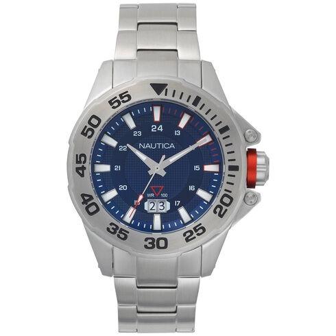 Westview Stainless Steel 3-Hand Watch - Multi