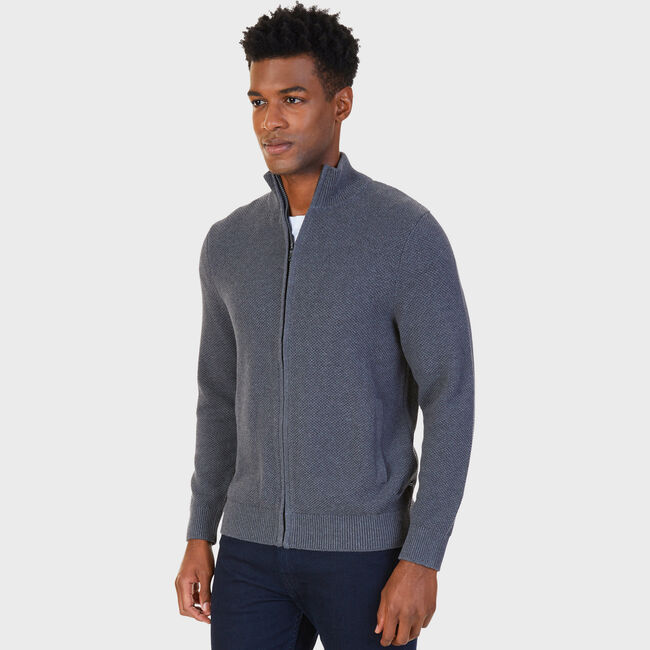 9890186bc251 Full-Zip Mock-Neck Sweater