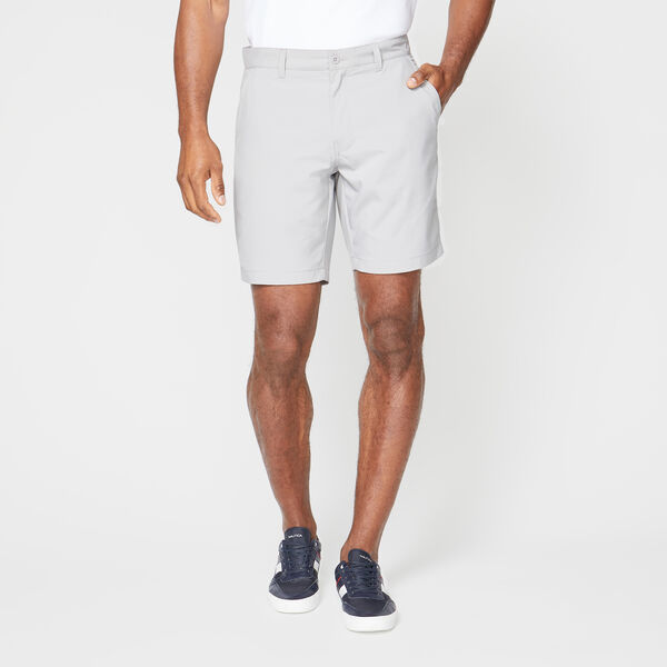 CLASSIC FIT PERFORMANCE GOLF SHORT - Grey Alloy