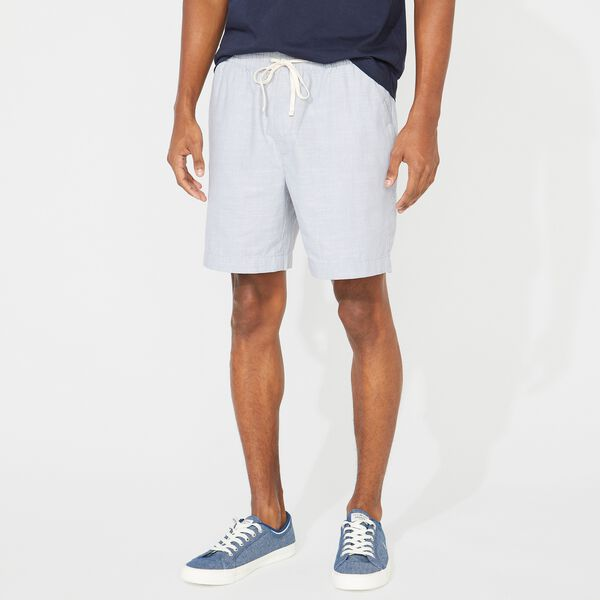 "7"" CLASSIC FIT BOARDWALK SHORT - Charcoal Blue Heather"