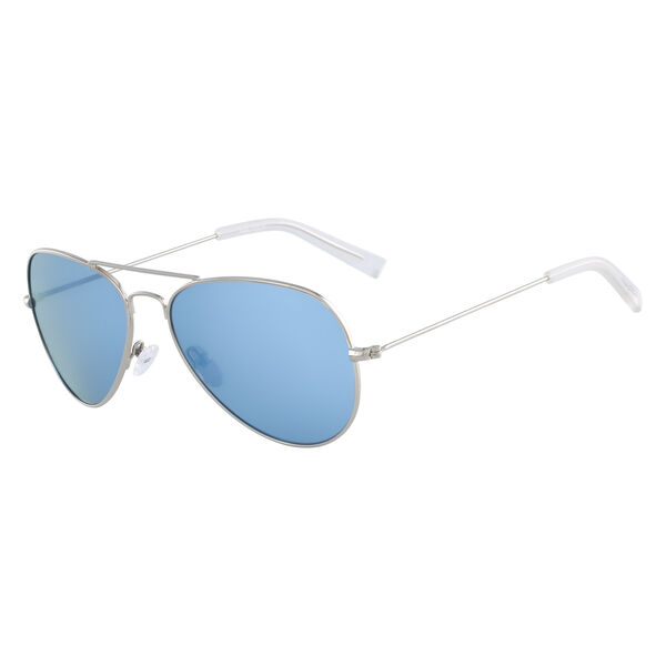Aviator Sunglasses with Silver Frame - Castlerock
