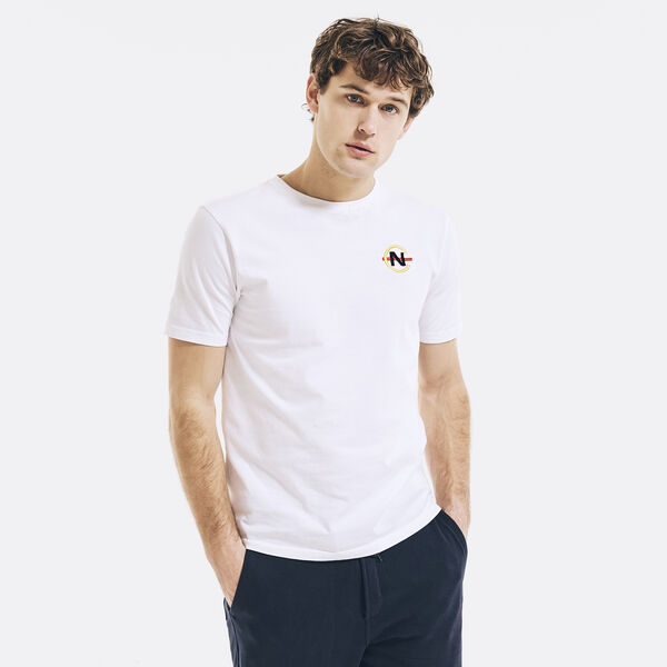 COMPETITION EMBROIDERED GRAPHIC T-SHIRT - Bright White