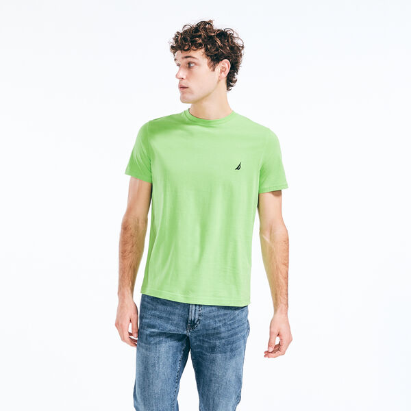 PREMIUM COTTON J-CLASS JERSEY T-SHIRT - Lime Surf