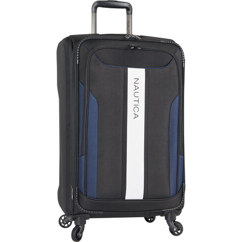 """Gennaker 24"""" Expandable Spinner Luggage - True Black"""
