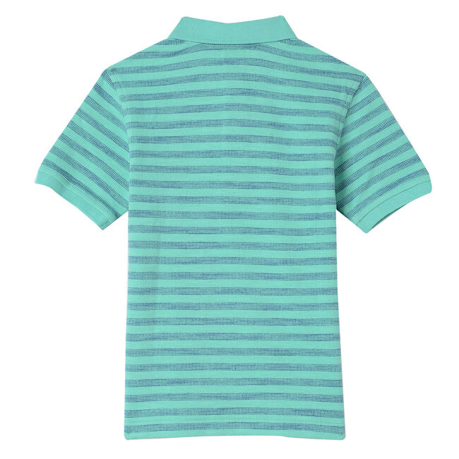 Boys' Johnnie Striped Polo (8-20),Fin Green,large