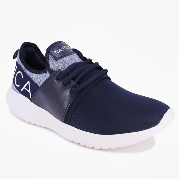 KAPPIL PERFORATED SNEAKERS - Navy