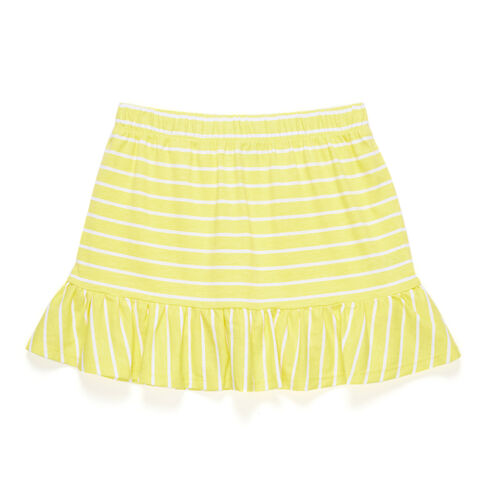 Toddler Girls' Striped Ruffle Skirt (2T-4T) - Yellow (nrma Code)