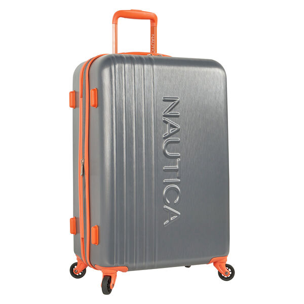 "Lifeboat 24"" Expandable Spinner Luggage - Grey Heather"