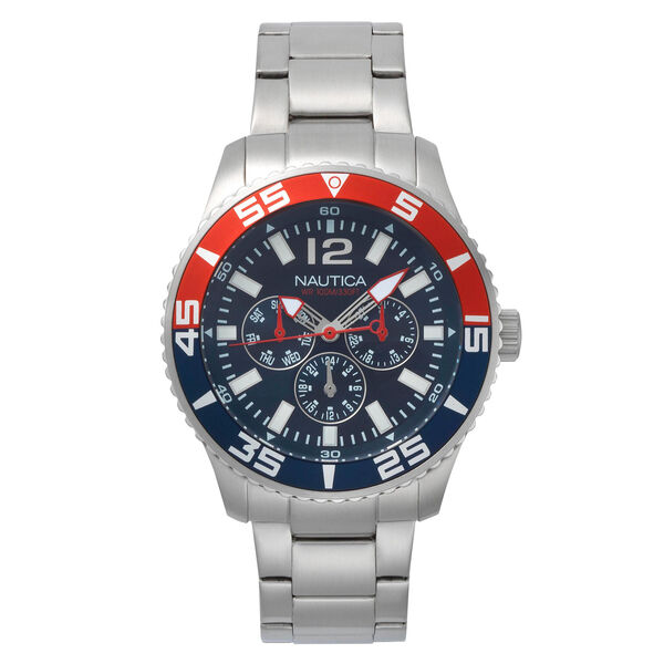White Cap Multifunction Watch - French Blue