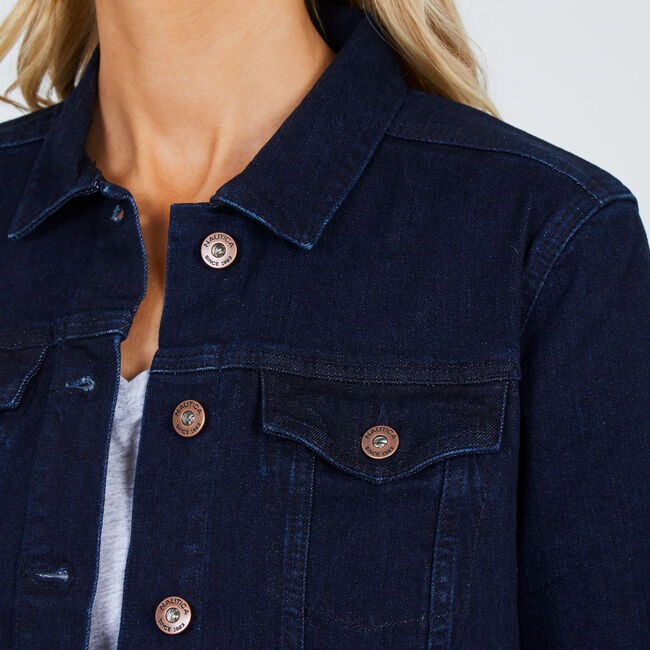 Classic Denim Jacket,Crystal Bay Blue,large