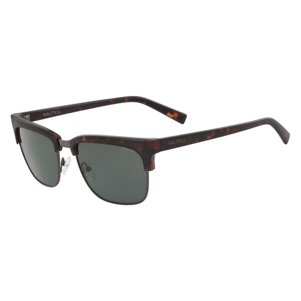 Retro Rectangular Sunglasses - Sable Heather