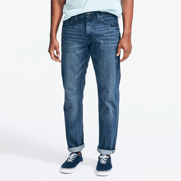 RELAXED FIT DENIM - Pure Deep Sea Wash