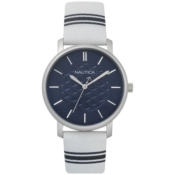 Coral Gables 3-Hand Watch - White/Blue  - Multi