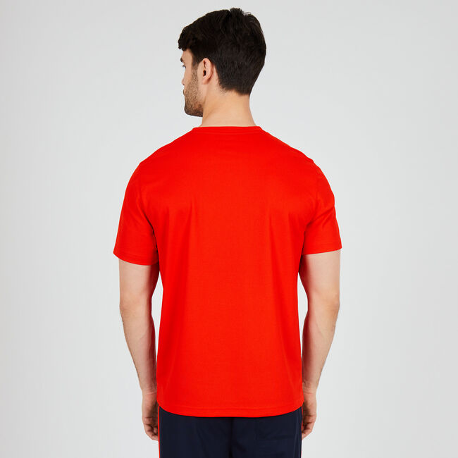 Performance 1983 Crewneck T-Shirt,Firey Red,large
