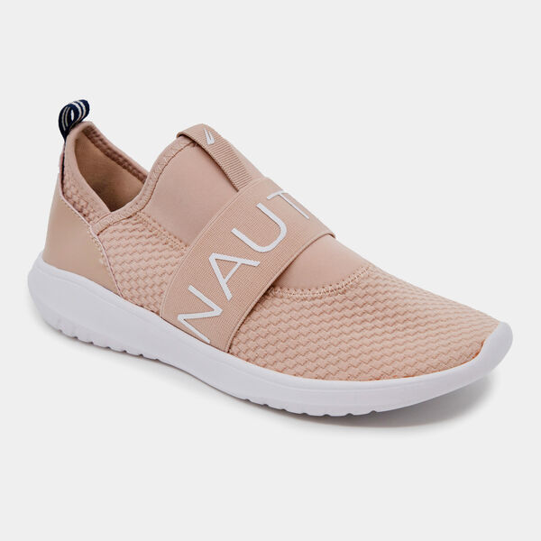 ROSEMONT EMBROIDERED LOGO SNEAKERS  - Pale Pink