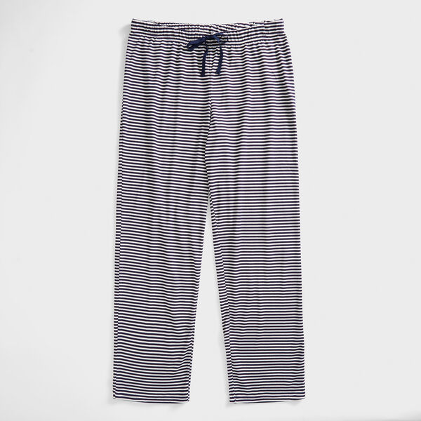 STRIPE PAJAMA PANT - Windsurf Blue