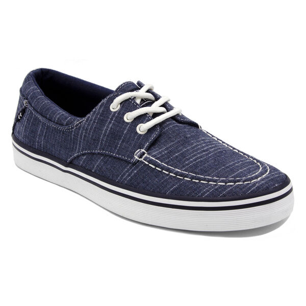 Ablemarle Canvas Sneaker in Navy  - Pure Dark Pacific Wash
