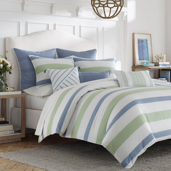 Norwich Blue Comforter Set - Washed Navy Heather