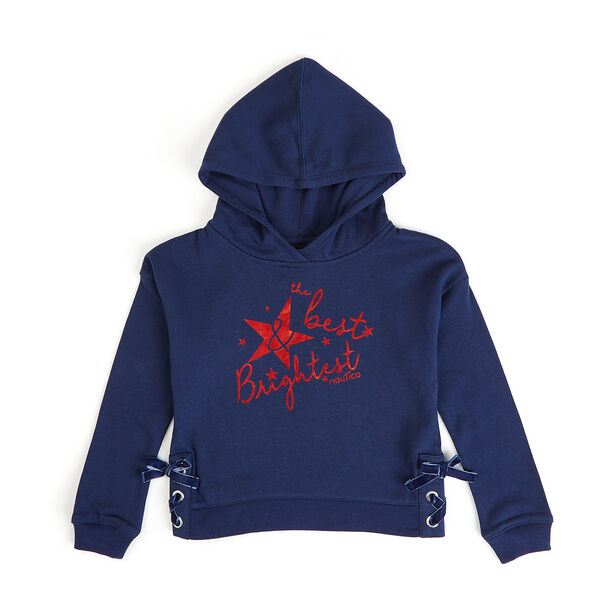 Toddler Girls' Best And Brightest Hoodie (2T-4T) - Navy