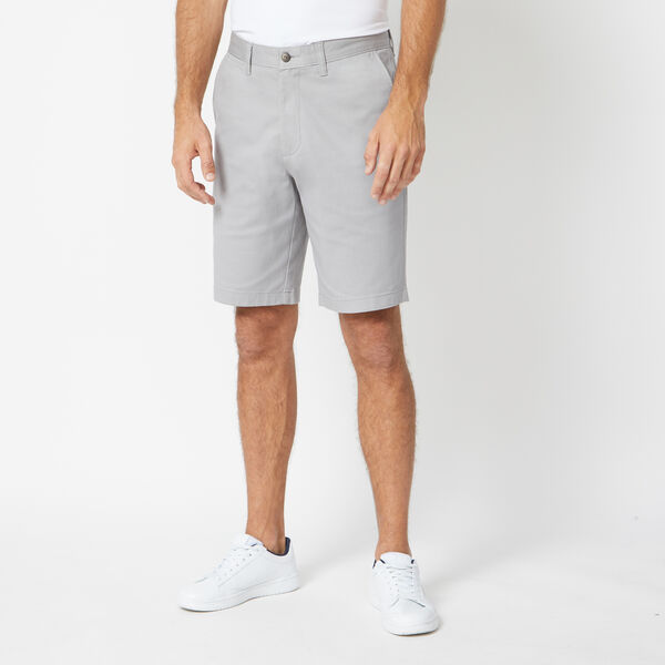 "10"" CLASSIC FIT DECK SHORTS WITH STRETCH - Grey Alloy"