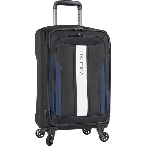 """Gennaker 20"""" Expandable Spinner Luggage - True Black"""