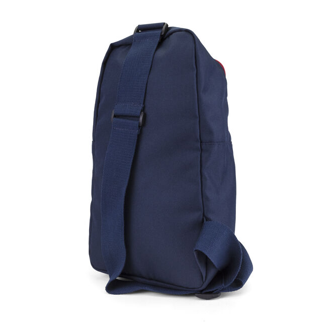 Racer Logo Sling Pack in Navy Blue,Pure Dark Pacific Wash,large