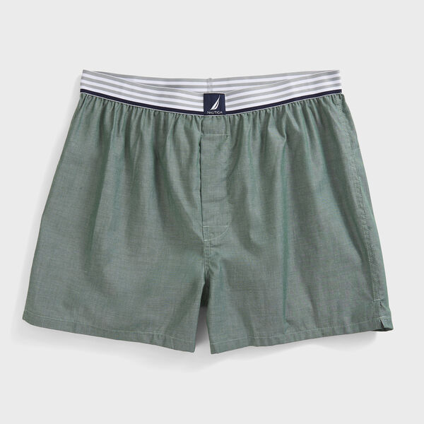 Woven Boxers - Nautica Red
