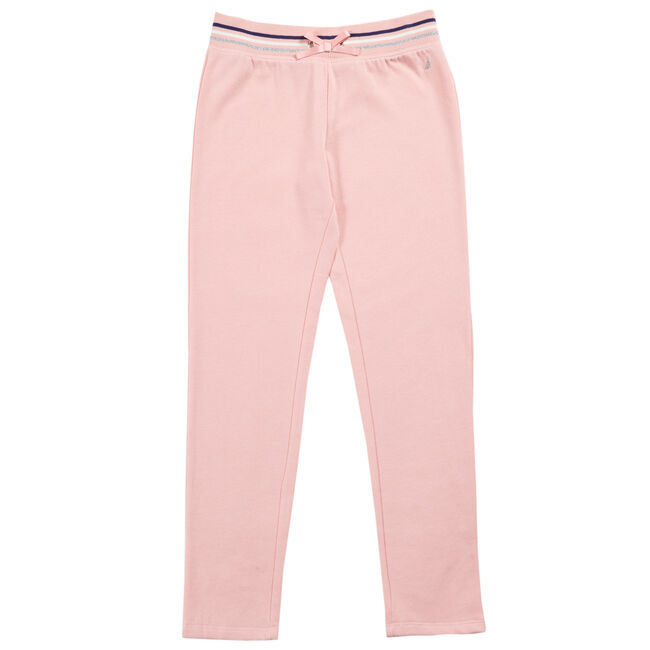 Little Girls' Fleece Joggers (4-7),Pink,large
